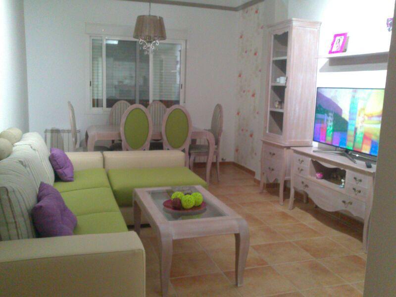 Salón Isabelino en color de muestra de cliente